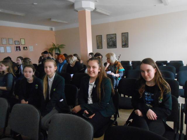 Jaunieji Kretingos Marijono Daujoto pagrindinės mokyklos ekologai dalinosi patirtimi