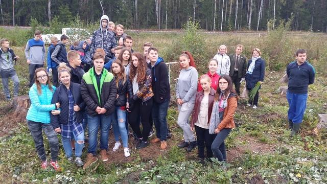 Pasaulinė medžių sodinimo diena Kazlų Rūdoje