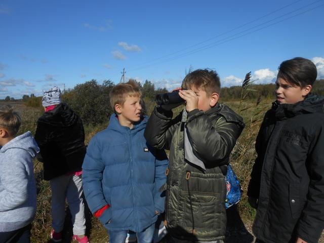 Kretingos Marijono Daujoto pagrindinės mokyklos mokinių išvyka į Rusnę