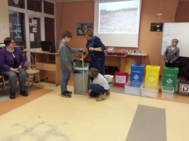 Panevėžio gamtos mokykloje paminėta Europos atliekų mažinimo savaitė