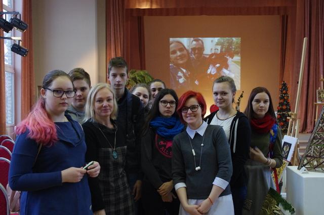 Kazlų Rūdos mokyklos atstovai Kauno miškų ir aplinkos inžinerijos kolegijoje
