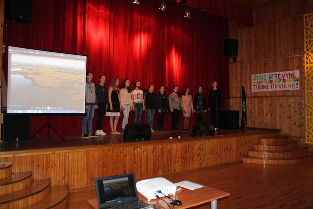Žemės diena Alksniupių pagrindinėje mokykloje