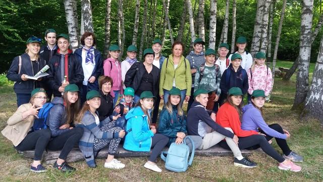 Ylakių gimnazijos gamtosaugininkai vasarą pasitiko įdomia veikla