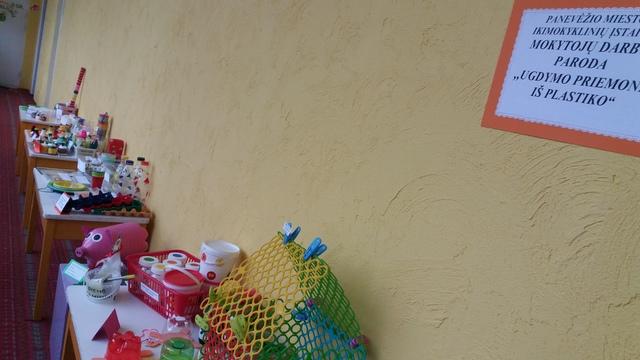 """Europos atliekų mažinimo savaitė Panevėžio darželyje """"Draugystė"""""""
