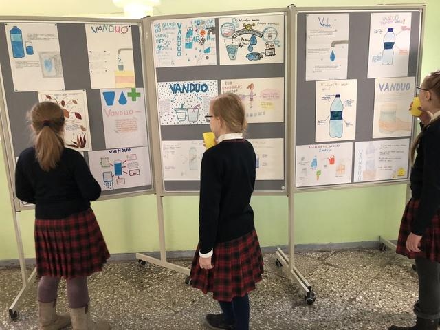 Pasaulinė vandens diena Kauno Milikonių progimnazijoje