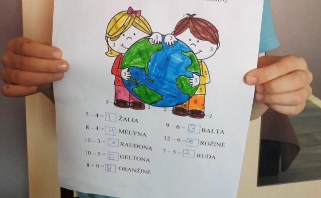 """Mažeikių darželyje ,,Eglutė"""" paminėta Žemės diena"""