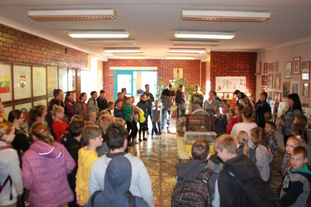 Pasaulinė gyvūnų diena Radviliškio raj. Alksniupių pagrindinėje mokykloje