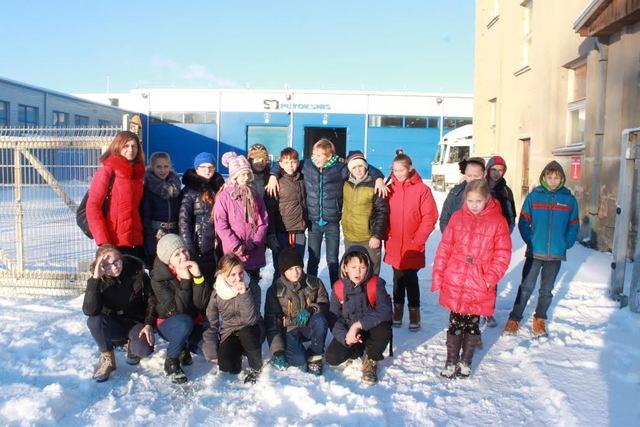 Radviliškio raj. Alksniupių pagrindinės mokyklos išvyka į Šiaulius