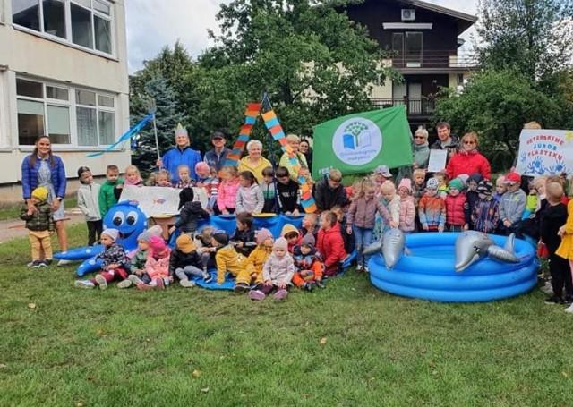 """Baltijos jūros dienos minėjimas Palangos darželyje ,,Ąžuoliukas"""""""