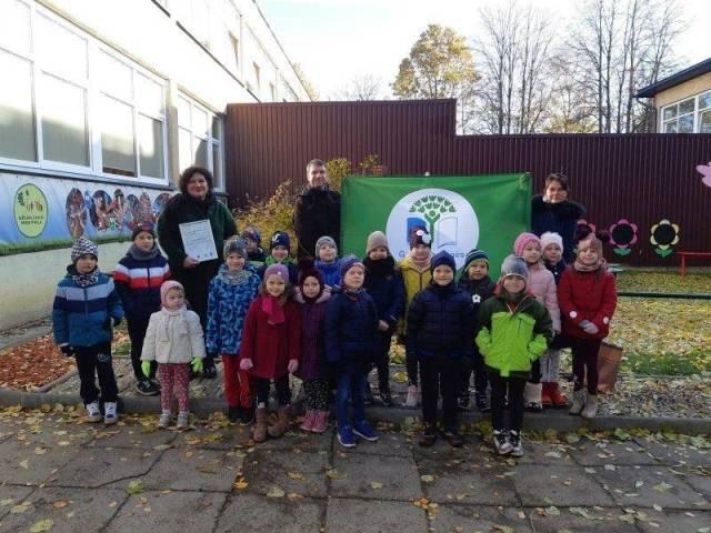 Žalioji vėliava – už rūpestį ir meilę gamtai